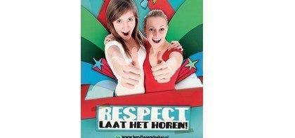 Poster (bovenbouw) Respect, laat het horen!